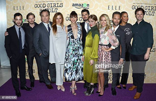 Actors Teddy Bergman Hunter Parrish Jim Belushi Grace Gummer Erin Darke Daniel Eric Gold Genevieve Angelson Anna Camp Chris Diamantopoulos Joy Bryant...