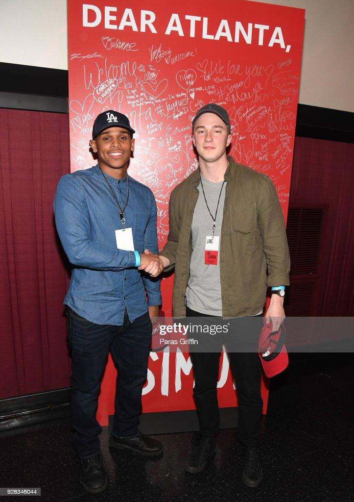LOVE, SIMON Atlanta Fan Screening and Q&A : News Photo