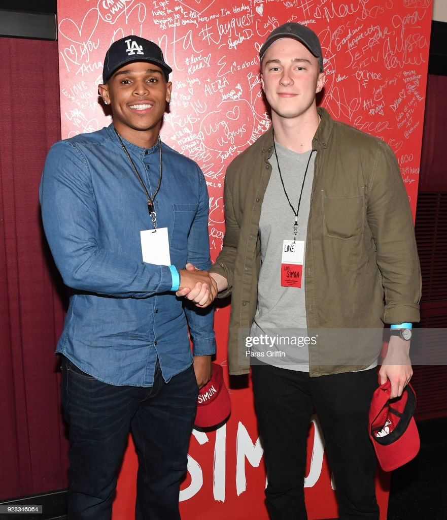 LOVE, SIMON Atlanta Fan Screening and Q&A : Foto di attualità
