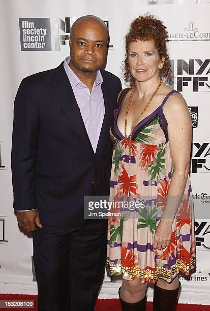 Actors Terence Bernie Hines and Amy Stiller attend the Centerpiece Gala Presentation Of The Secret Life Of Walter Mitty during the 51st New York Film...