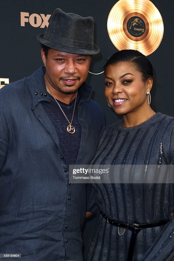 Actors Terrence Howard and Taraji P. Henson attend the 'Empire' FYC ATAS Event held at Zanuck Theater at 20th Century Fox Lot on May 20, 2016 in Los Angeles, California.