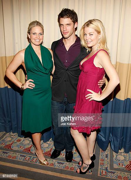 Actors Terri Colombino, David Gregory and Bree Williamson attends the 25th Annual Starlight Children's Foundation Gala at The New York Marriott...