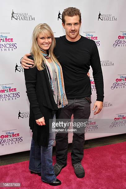 "Actors Terri Conn and Josh Kelly attend Disney On Ice's ""Princess Wishes"" opening night at Madison Square Garden on January 21, 2011 in New York City."