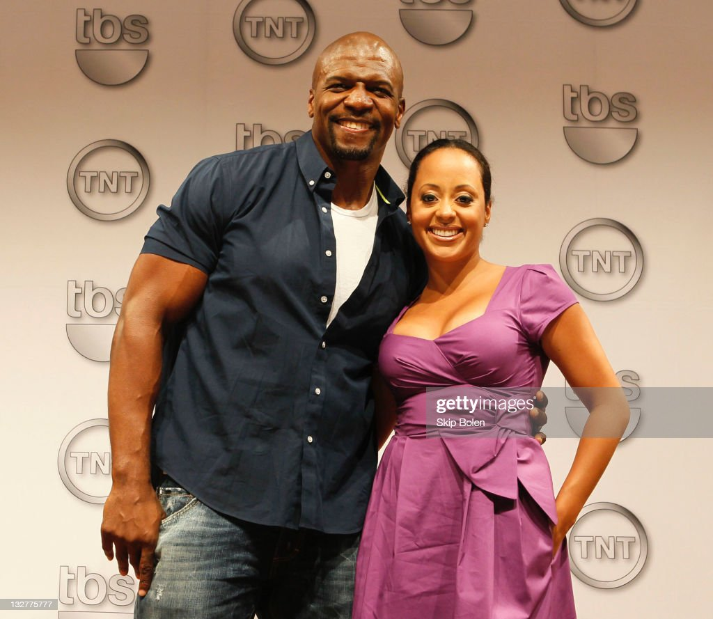 Actors Terry Crews and Essence Atkins of the TBS show 'Are We There Yet' attend the