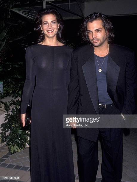 Actors Terry Farrell and Richard Grieco attend a Cocktail Reception to Kick-Off the 11th Season of the Museum of Television and Radio on February 28,...
