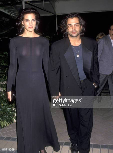 Actors Terry Farrell and Richard Grieco attend a Cocktail Reception to KickOff the 11th Season of the Museum of Television and Radio on February 28...