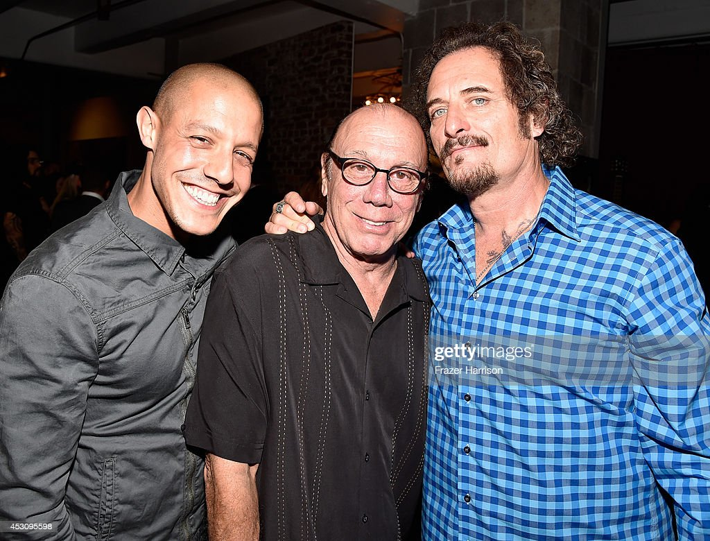 Actors Theo Rossi, Dayton Callie and Kim Coates attend ...