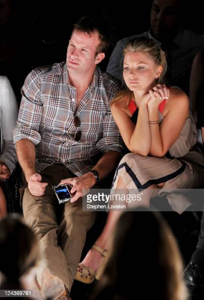 Actors Thomas Jane and Kaitlin Doubleday attend the Project Runway Spring 2012 fashion show during MercedesBenz Fashion Week at The Theater at...
