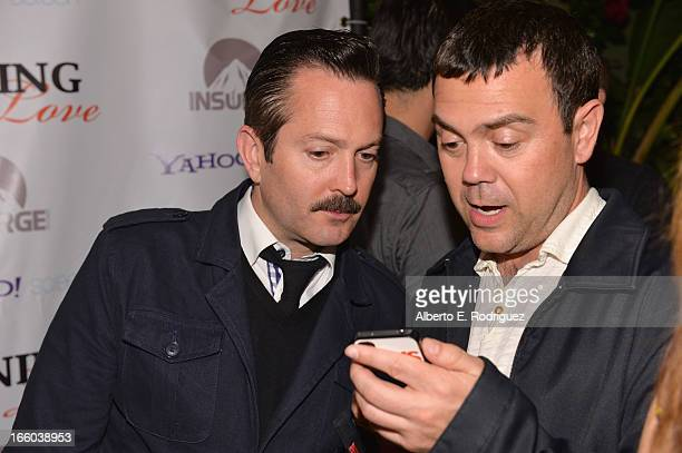 Actors Thomas Lennon and Joe Lo Truglio attend the Season 3 premiere of Paramount's Insurge Pictures' 'Burning Love Burning Down The House' at The...