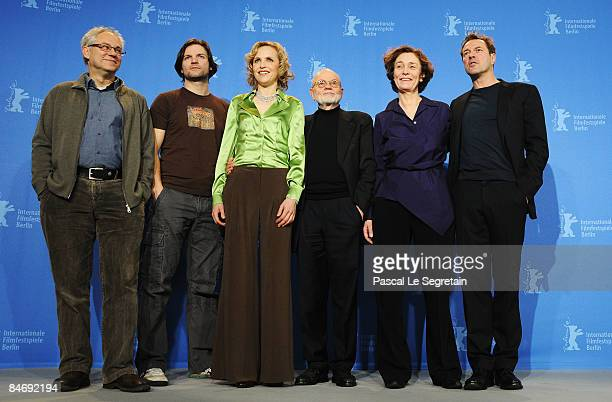 Actors Thomas Thieme, Misel Maticevic, Juliane Koehler, producer Guenter Rohrbach, director Hermine Huntgeburth and actor Sebastian Koch attend the...