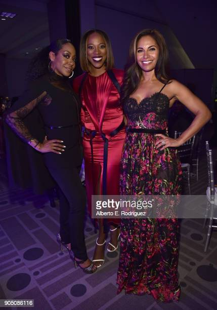 Actors Tichina Arnold Yvonne Orji and Sally RichardsonWhitfield attend the 49th NAACP Image Awards NonTelevised Award Show at The Pasadena Civic...