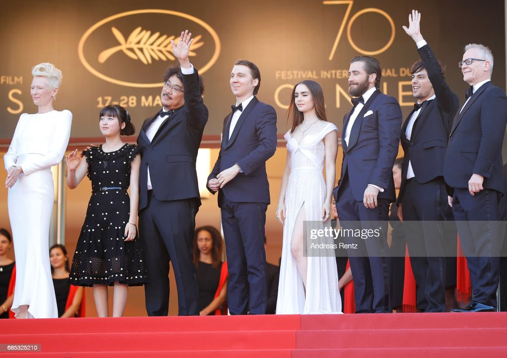 """Okja"" Red Carpet Arrivals - The 70th Annual Cannes Film Festival : News Photo"