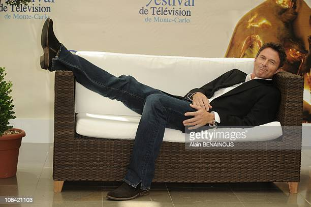 Actors Tim Daly attends a photocall for the American TV series 'Private Practice' in Monte Carlo Monaco on June 10th 2009