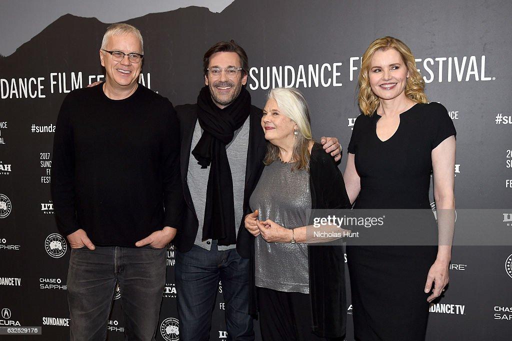 """Marjorie Prime"" Premiere - 2017 Sundance Film Festival : News Photo"
