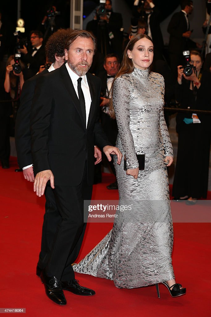 Actors Tim Roth (L) and Sarah Sutherland attend the 'Chronic' Premiere during the 68th annual Cannes Film Festival on May 22, 2015 in Cannes, France.