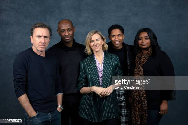 Actors Tim Roth director Julius Onah actors Naomi Watts Kelvin Harrison Jr and Octavia Spencer from 'Luce' are photographed for Los Angeles Times on...