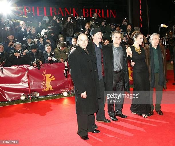 Actors Timothy Hutton Matt Damon Robert De Niro and Martina Gedeck