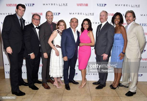 "Actors Timothy Simons, Kevin Dunn, Tony Hale, Anna Chlumsky, ""Veep"" creator Armando Iannucci, actors Julia Louis-Dreyfus, Matt Walsh, Sufe Bradshaw..."