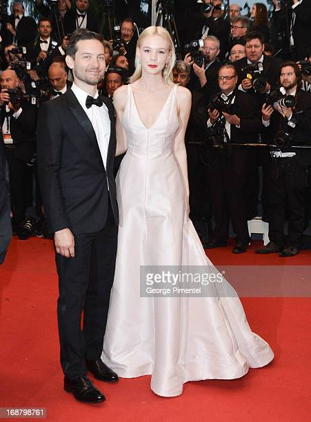 Actors Tobey Maguire and Carey Mulligan and director Baz Luhrmannattends the Opening Ceremony and Premiere of 'The Great Gatsby' at The 66th Annual...