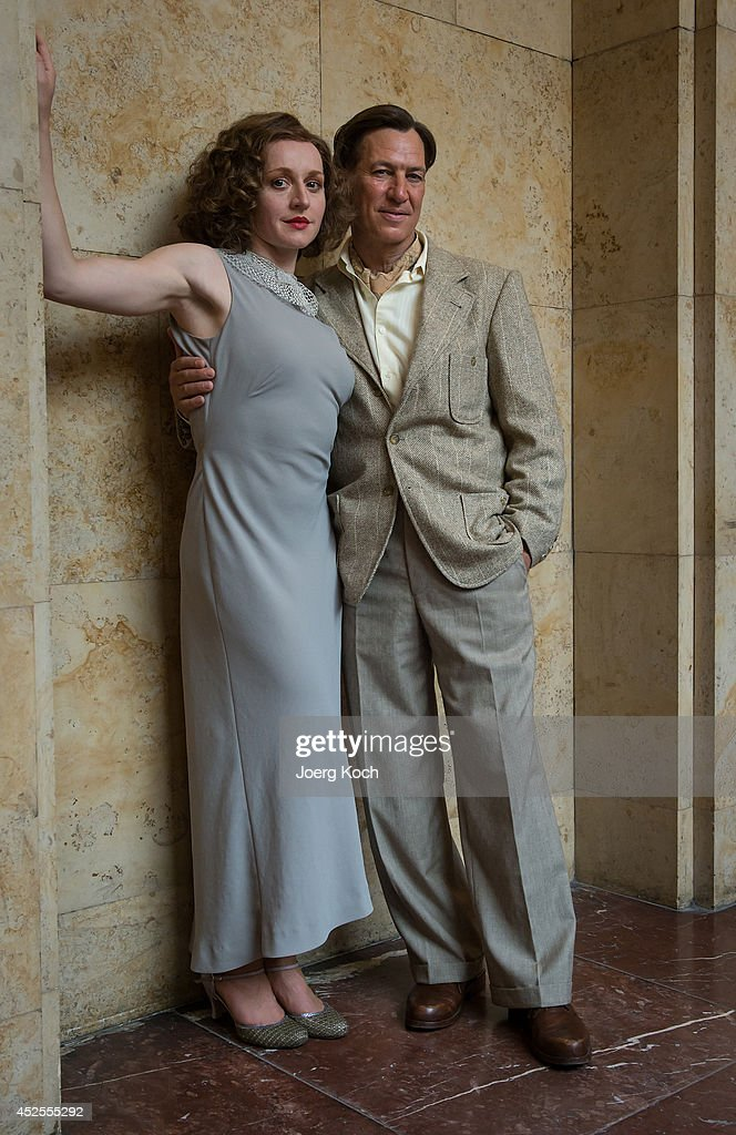 actors tobias moretti and brigitte hobmeier pose during the 39 luis news photo getty images