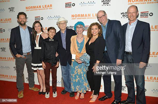 Actors Todd Grinnell, Isabella Gomez and Marcel Ruiz, producer Norman Lear, actors Rita Moreno, Justina Machado and Stephen Tobolowsky and guest...