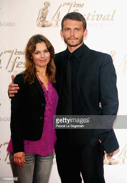 Actors Toinette Laquiere and Arnaud Binard attend the TF1 premiere screening of 'Mystere' on the third day of the 2007 Monte Carlo Television...