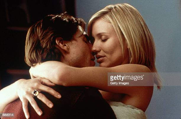 "Actors Tom Cruise and Cameron Diaz star in ""Vanilla Sky."""
