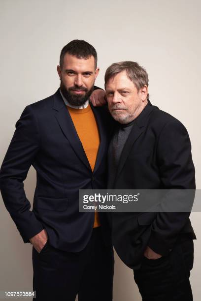 Actors Tom Cullen and Mark Hamill of History's 'Knightfall' pose for a portrait during the 2019 Winter TCA at The Langham Huntington Pasadena on...