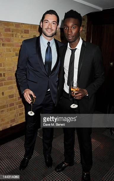 Actors Tom Ellis and Nathan StewartJarrett attend the British Academy Television Craft Awards at The Brewery on May 13 2012 in London England