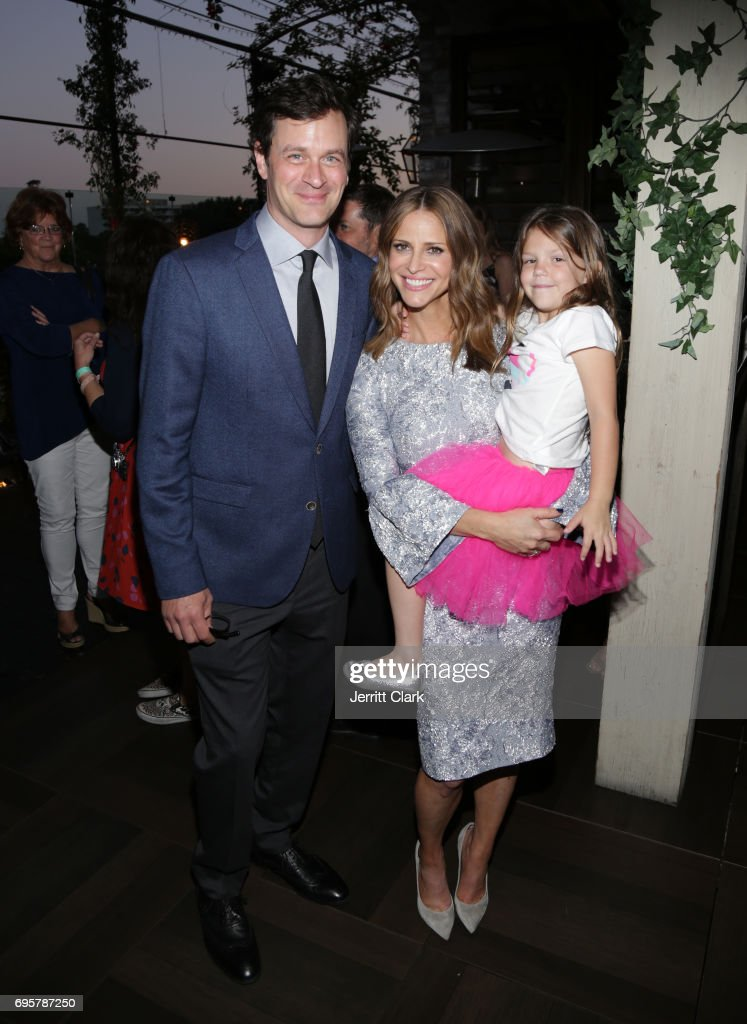 Actors Tom Everett Scott, Andrea Savage and Olive Petrucci attend the premiere of truTV's 'I'm Sorry' n June 13, 2017 in West Hollywood, California.