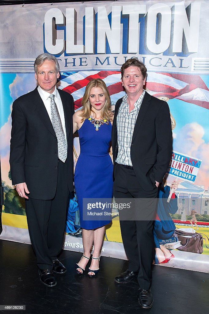 """""""Clinton The Musical"""" Opening Night - Arrivals & Curtain Call"""