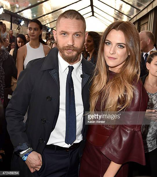 "Actors Tom Hardy and Riley Keough attend the premiere of Warner Bros. Pictures' ""Mad Max: Fury Road"" at TCL Chinese Theatre on May 7, 2015 in..."