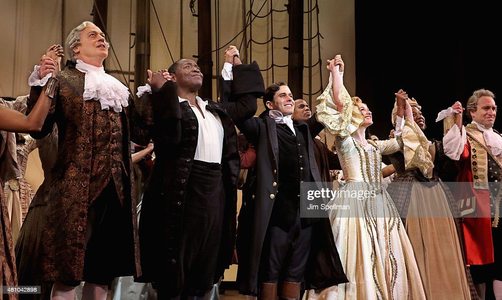 """""""Amazing Grace"""" Broadway Opening Night - Arrivals And Curtain Call"""