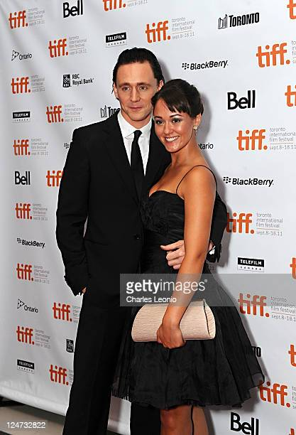 Actors Tom Hiddleston and Susannah Fielding attend the premiere of The Deep Blue Sea at TIFF Bell Lightbox during the 2011 Toronto International Film...