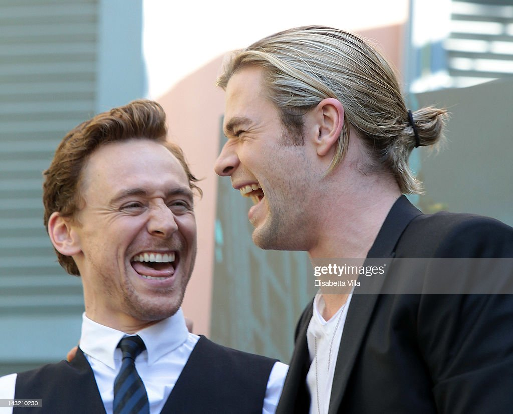 """The Avengers"" Rome Photocall : News Photo"