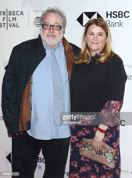 Actors Tom Hulce and Mare Winningham attend the premiere of 'The Seagull' during the 2018 Tribeca Film Festival at BMCC Tribeca PAC on April 21 2018...