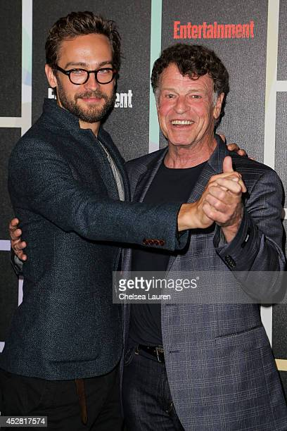 Actors Tom Mison and John Noble arrive at Entertainment Weekly's Annual Comic Con Celebration at Float at Hard Rock Hotel San Diego on July 26 2014...