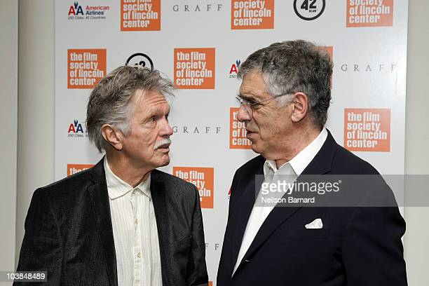 Actors Tom Skerritt and Elliott Gould attend the 'M*A*S*H' Screening and QA held during Fasten Your Seatbelts 75 Years of 20th Century Fox held at...