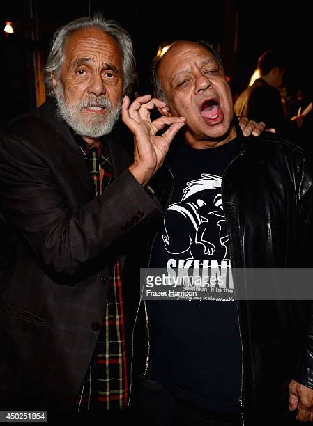 Actors Tommy Chong and Cheech Marin attens Spike TV's Guys Choice 2014 at Sony Pictures Studios on June 7 2014 in Culver City California