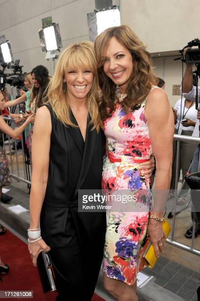 Actors Toni Collette and Allison Janney attend the premiere of Fox Searchlight Pictures' 'The Way Way Back' at Regal Cinemas LA Live on June 23 2013...
