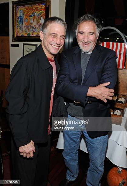 Actors Tony Danza and Judd Hirsch attend the after party for the Anonymous screening at the Circo on October 20 2011 in New York City