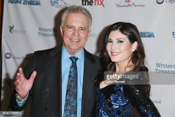 Actors Tony Denison and Celeste Thorson attends the 9th Annual Experience Strength And Hope Awards Ceremony at Writers Guild Theater on February 22...