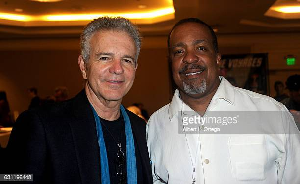 Actors Tony Denison and Robert Gosset attend The Hollywood Show held at The Westin Los Angeles Airport on January 7 2017 in Los Angeles California