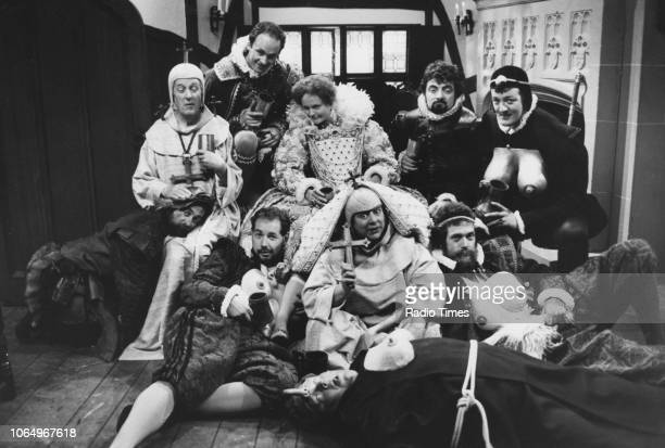 Actors Tony Robinson Daniel Thorndike Tim McInnerny Miranda Richardson Rowan Atkinson Stephen Fry Hugh Laurie Miriam Margoyles Roger Blake and...