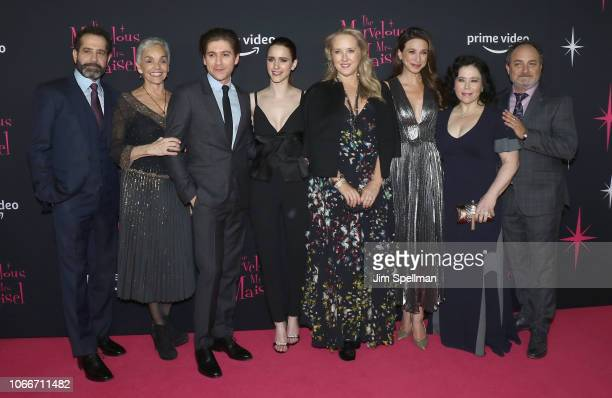 Actors Tony Shalhoub Brooke Adams Michael Zegen Rachel Brosnahan Amazon Studios chief Jennifer Salke actors Marin Hinkle Alex Borstein and Kevin...