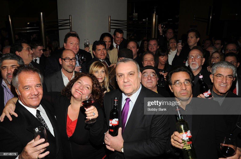 The Sopranos Wines Launch Reception : News Photo