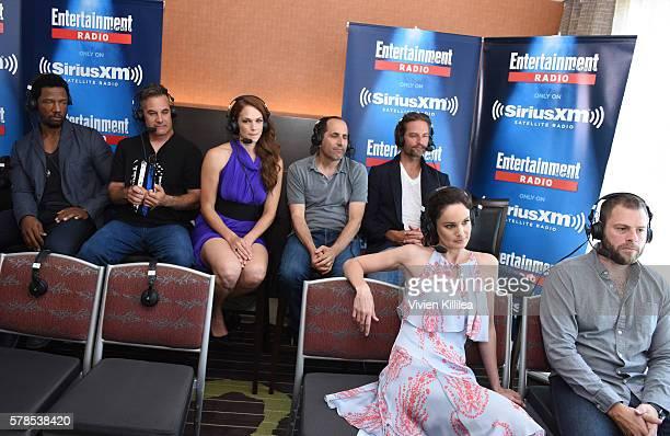 Actors Tory Kittles and Adrian Pasdar actress Amanda Righetti actors Peter Jacobson and Josh Holloway actress Sarah WayneCallies and executive...