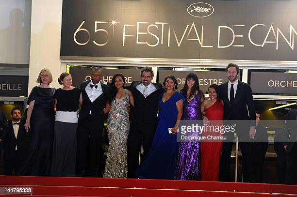 "Actors Tory Kittles, Jessica Mauboy, director Wayne Blair and actors Deborah Mailman, Shari Sebbens, Miranda Tapsell and Chris O'Dowd attend the ""The..."
