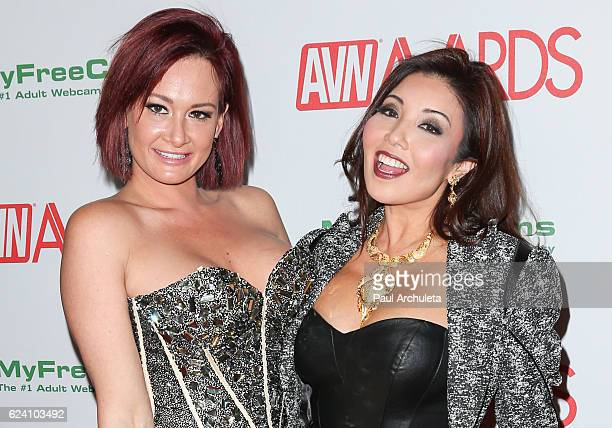 Actors Tory Lane and Akira Lane attend the 2017 AVN Awards nomination party at Avalon on November 17 2016 in Hollywood California