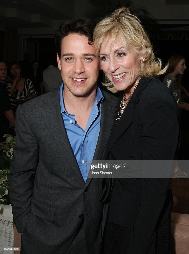 Actors T.R. Knight and Judith Light attends The Gersh Agency EMMY Party w/Special Guest Frederic Fekkai held at The Terrace at Sunset Tower Hotel on September 14, 2007 in Los Angeles, California.